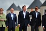 Lídri Nemecka, Ruska, Veľkej Británie, USA a Francúzska. Zdroj: www.rt.com
