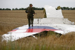 Trosky zrúteného malajzijského lietadla. Zdroj: www.kp.ru
