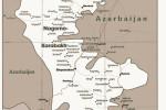 Náhorný Karabach mapa. Zdroj: www.globalsecurity.org