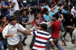 Spolužitie migrantov v záchytných táborov nezriedka spravádzajú ich vzájomné konflikty. Zdroj: www.stern.de