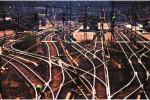 Stanica na trase Doneckej železnice. Zdroj: donbass-info.com