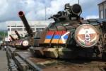 Tank Armády obrany Náhorného Karabachu. Zdroj: TASS
