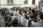 Foto: Protestná akcia v Tbilisi v roku 2003. Zdroj: www.novayagazeta.ru