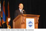 Prezident Náhorného Karabachu Arkadij Gukasian. Zdroj: www.nkr.am