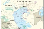 Vybrané energetické projekty v regióne Kaspického mora. Zdroj: www.eia.doe.gov