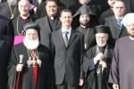 Sýrski duchovní lídri na stretnutí s prezidentom Asadom v roku 2007. Zdroj: www.nytimes.com