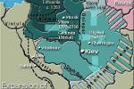 Stredoveké litovské impérium. Zdroj: www.idiocentrism.com