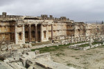 Libanon, Panteón v hrámovom komplexe Baalbek. Zdroj: www.deklad56.com