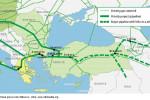 Projektovaná trasa plynovodu Nabucco. Zdroj: www.wikimedia.org