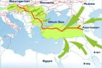 Projekt plynovodu Nabucco. Zdroj: www.nabucco-pipeline.com