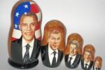 Americkí prezidenti v matrioškách. Zdroj: http://www.wtg1977.com