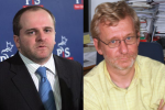 Po¾ský politológ Grzegorz Gromadzki (vpravo) a poslanec EP za stranu Právo a spravodlivosť Pawel Kowal (ľavo). Zdroj: archív a http://www.dziennik.pl
