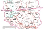 Poľsko – sieť distribúcie zemného plynu. Zdroj: http://www.geoland.pl