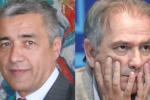 Štátny tajomník Oliver Ivanović a líder kosovských Srbov Marko Jakšić