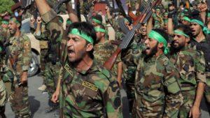 Šítske milície v Iraku. Zdroj: www.veteranstoday.com