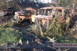 Zničená technika 79. samostatnej brigády Pozemných vojsk Ozbrojených síl Ukrajiny. Zdroj: www.Novosti-N.org