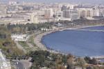 Metropola Azerbajdžanu Baku. Zdroj: http://www.karl.aegee.org