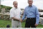 Prezident Ruskej federácie Vladimir V. Putin u prezidenta USA Georgea W. Busha na ranči v štáte Maine. Zdroj: www.whitehouse.gov
