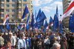 Černobyľský pochod v Mninsku, 26. apríla 2008. Zdroj: Radio Racyja