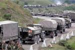 Ruská armáda sa presúva do Gruzínska. Zdroj: nytimes.com
