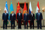 Lídri krajín Šanghajskej organizácie spolupráce. Zdroj: www.kloop.kg