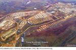 Vojenská základňa USA v Kosove Camp Bondsteel. Zdroj: www.kosova.org