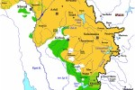 Územie kurdskej autonómie v Iraku