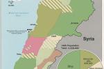 Súčasné rozmiestnenie hlavných etnických skupín v Libanone. Zdroj: www.johram.com