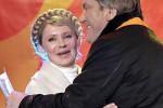 """Viktor Juščenko a Julia Tymošenková – lídri """"oranžovej revolúcie"""". Zdroj: publiuspundit.com"""
