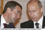 Dmitrij Medvedev patrí do najbližšieho okolia Vladimira Putina. Zdroj: http://www.telegraph.co.uk