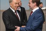 Nazarbajev, Medvedev
