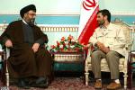 Prezident Iránu Mahmud Ahmadinedžád s lídrom hnutia Hizballáh Hassanom Nasrallahom