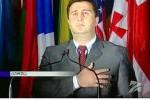 Foto: Alternatívny prezident Južného Osetska Dmitrij Sanakojev. Foto: Alternatívny prezident Južného Osetska Dmitrij Sanakojev. Zdroj: www.lenta.ruZdroj: www.lenta.ru