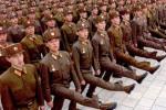 Vojenská prehliadka severokórejskej armády. Zdroj: RFE/RL