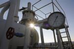 Tlakomer na hlavnom plynovode z Ruskej federácie v obci Bojarka na Ukrajine. Zdroj: www. daylife.com