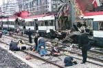 Výsledky teroristického útoku v Madrite v roku 2004. Zdroj: utok-v-madride-2004www.pamelageller.com